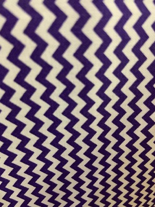 Mini Chevron - Purple