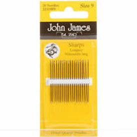 John James Sharp Needles - Size 9