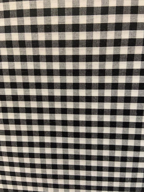 Black and White Gingham Small