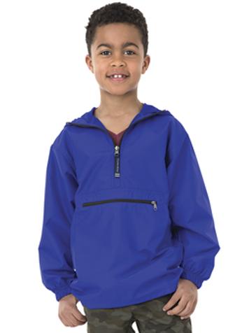 Youth Pullover Rain Jacket