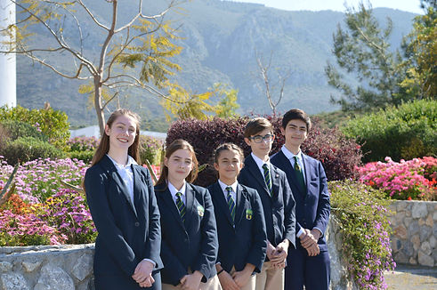 the english school students