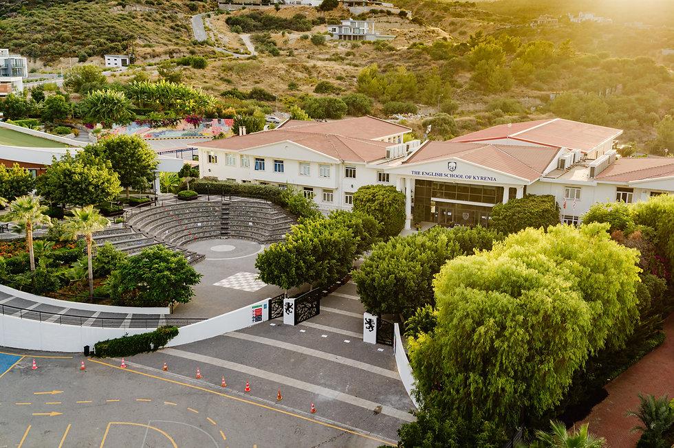 school campus in cyprus