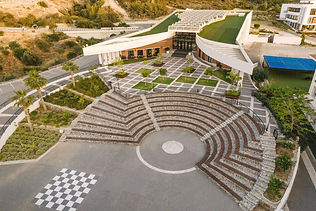amphitheatre in school grounds