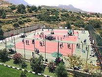 School multi-sports courts