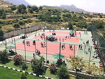 School multi-sports courts