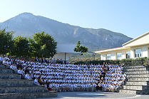 The english school of kyrenia amphitheatre