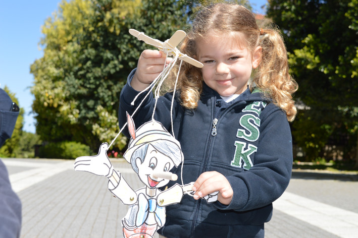 Year 1 students create their very own Pinocchio