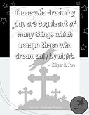 Those who dream by day are cognizant of