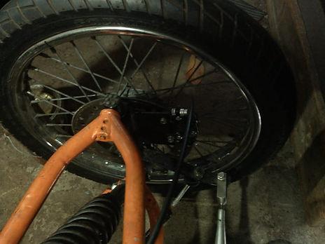 85 ciclomovel  - Disco de freio de Honda