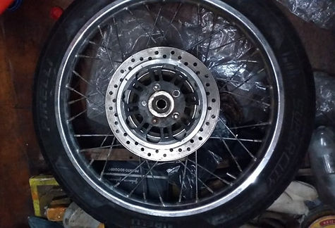 5 Aro 16' de Honda Fan para freio a disc
