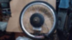 4 Aro 26' com motor de cubo de 1000 watt