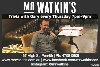 Penrith Trivia, High st trivia, fun things to do in penrith, night out in penrith, exciting times in penrith, high dinner trivia, Mr watkins Trivia