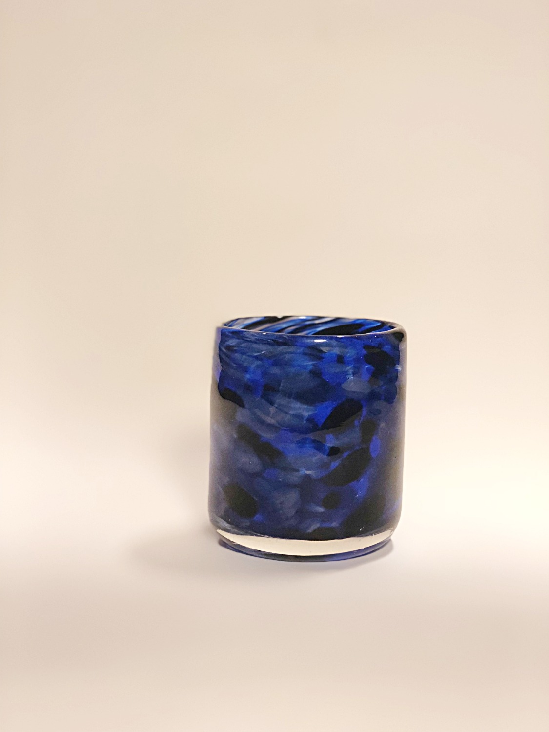 Blue and Black Cup