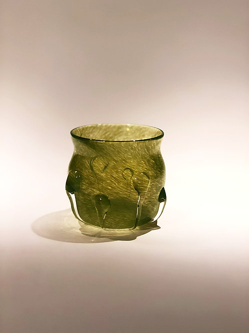 Medieval Inspired Small Green Cup