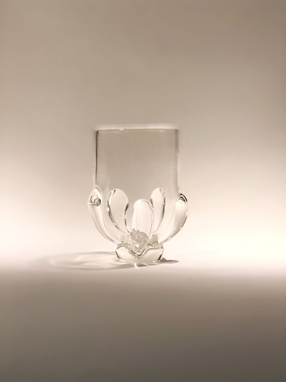 Medieval Inspired Clear Cup