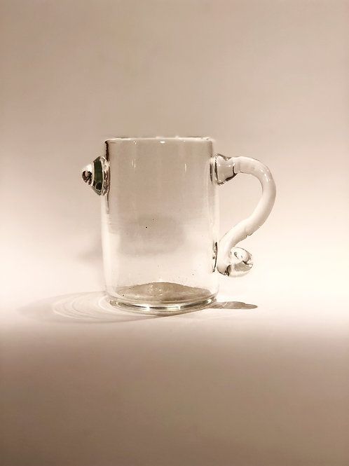 Clear Bird Cup with Handle