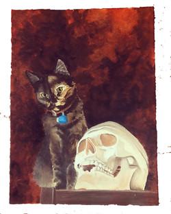 Momento Mori Kitty