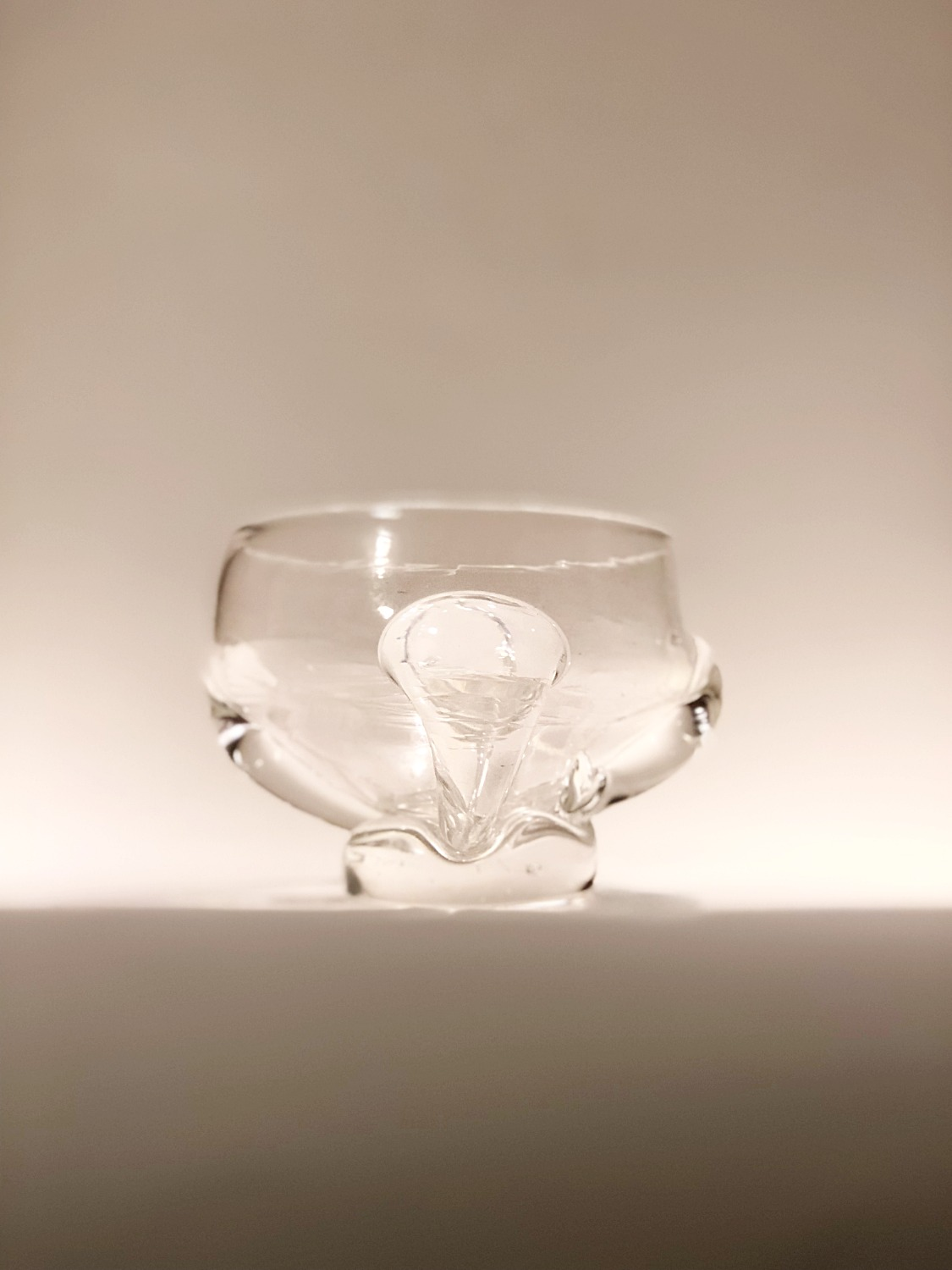 Medieval Inspired Clear Bowl