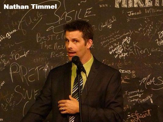 Nathan Timmel, Comic, Comedian, Comedy