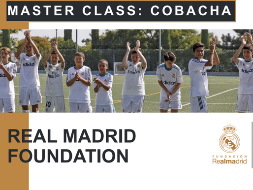 Free Coaches Clinic with Real Madrid