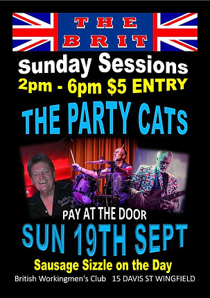 PARTY CATS POSTER  SUNDAY SESSIONS .jpg