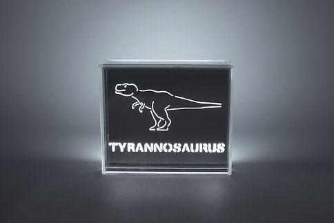 Tyrannosaurus dinosaur LED Light - Skin
