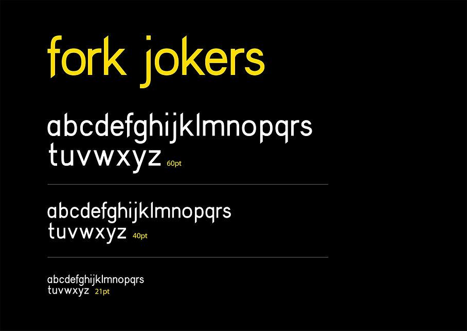 typeface design, font design, typography, letter design, letters, alphabet, graphic design, fork jokers, lettering, type, font,