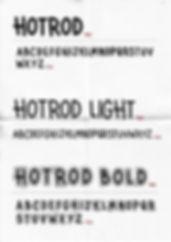 typeface design, font design, typography, letter design, letters, alphabet, graphic design, hotrod, hotrod font, hotrod typeface, 50's typeface, 50's font,