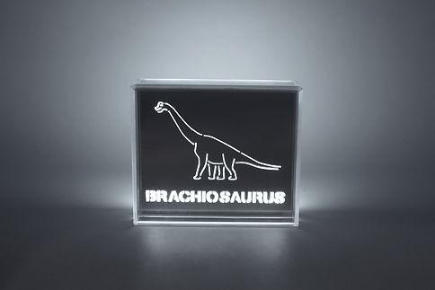 Brachiosaurus Dinosaur LED Light - Skin
