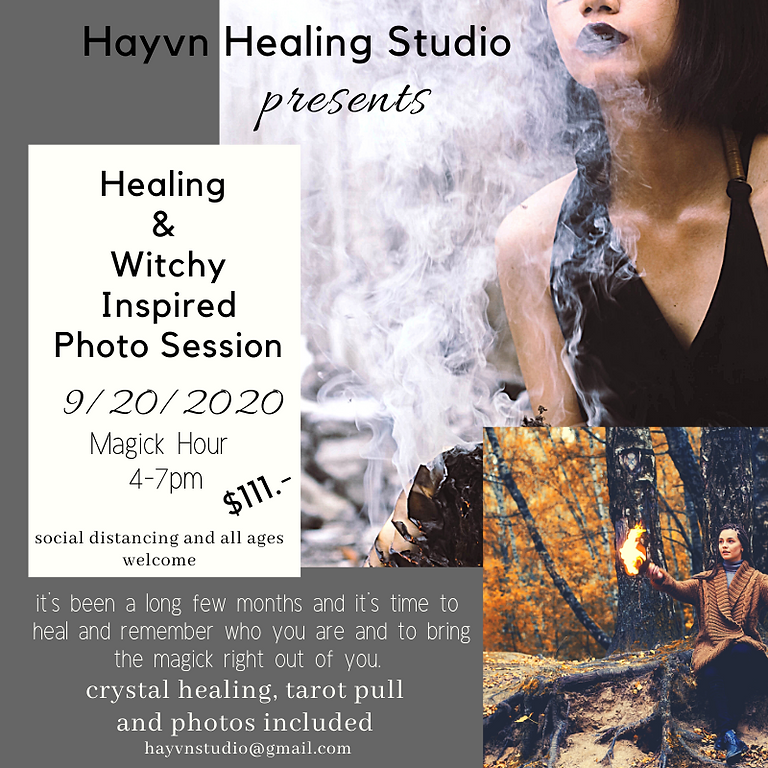 Witchy Healing Mini Session