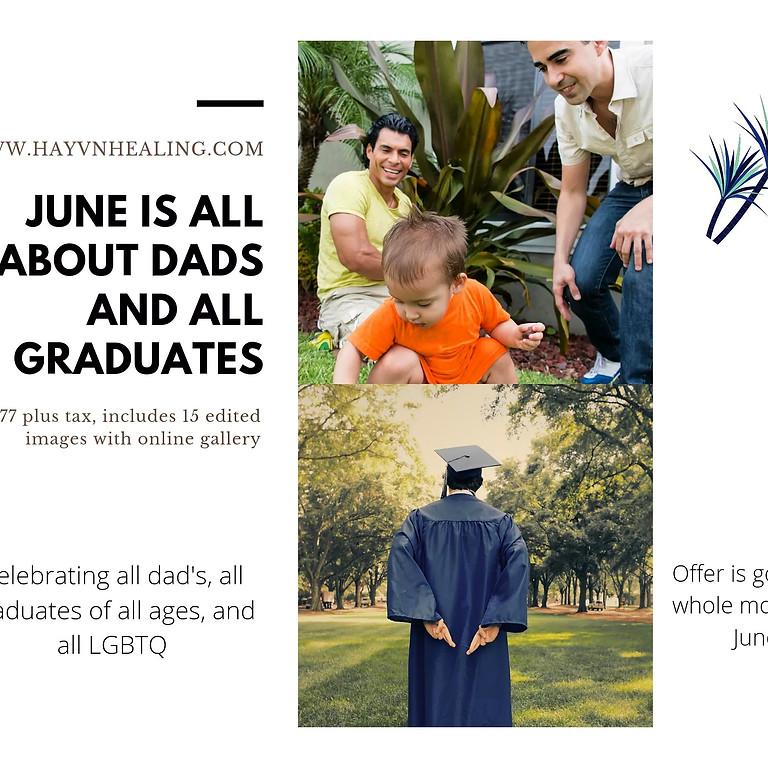 Dad's, Graduates and Love!