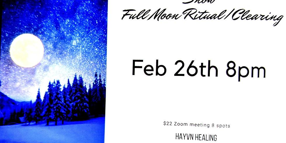 Snow Full Moon Ritual