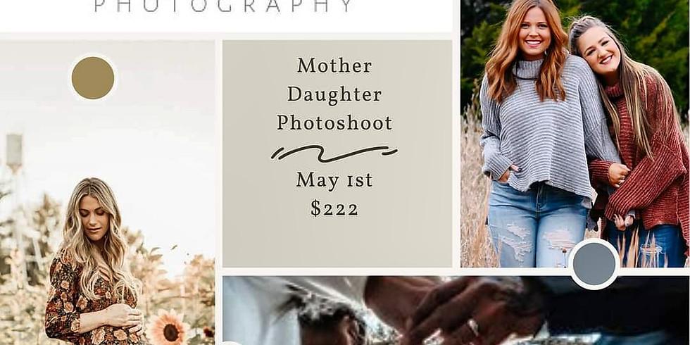Mama Daughter Photoshoot