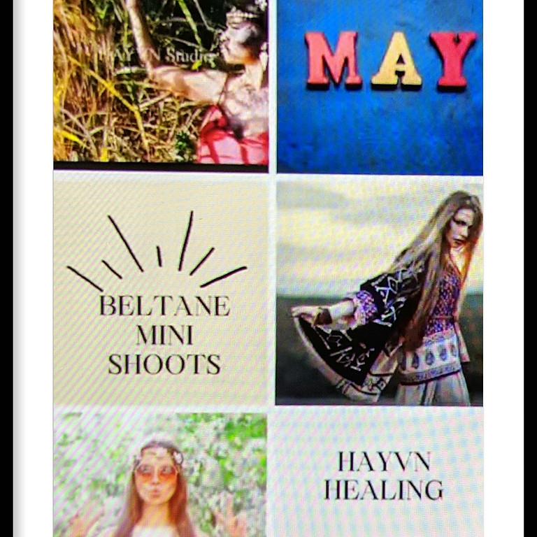Beltane Healing Photoshoot