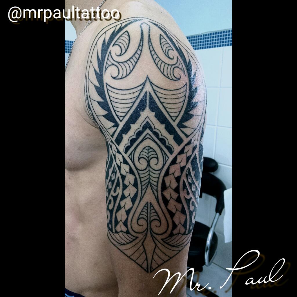 Tribal_maori_braço_tattoo_mrpaul_dermographic_ribeirão_preto