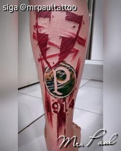 palmeiras aquarela tatuagem tattoo mrpau