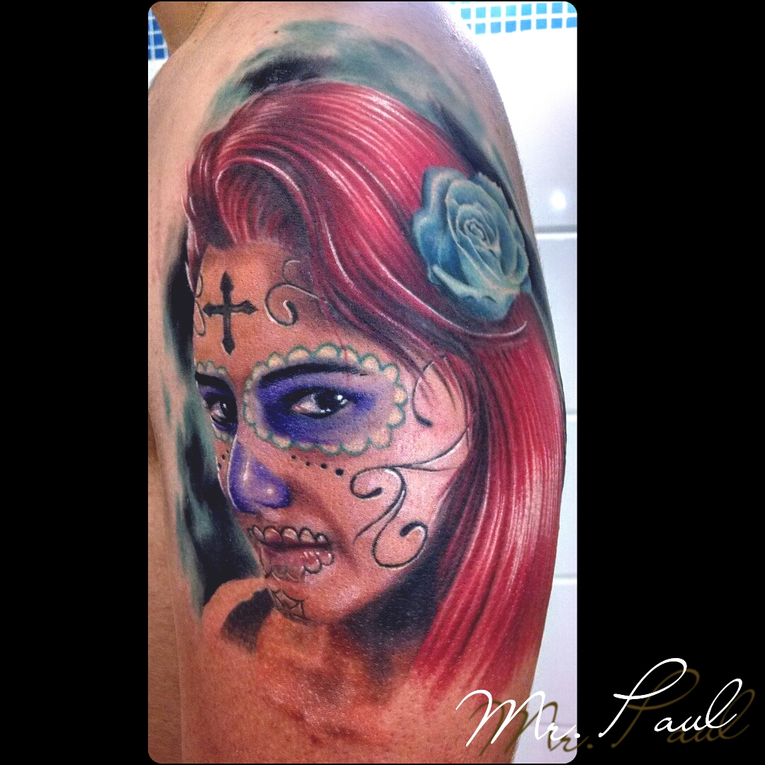 catrina+braço_tattoo_mrpaul_dermographic_ribeirão+preto+