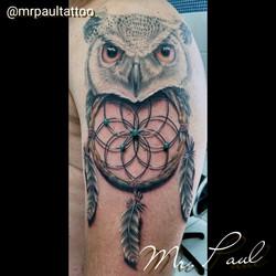 Coruja_com_filtro_dos_sonhos_tattoo_mrpaul_dermographic_ribeirão_preto