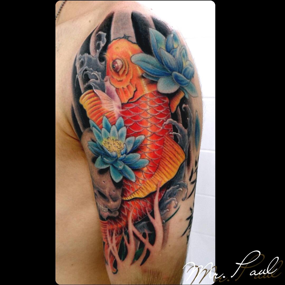 carpa+braço_tattoo_mrpaul_dermographic_ribeirão+preto+