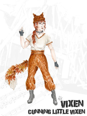 The Cunning Little Vixen - MOS Production