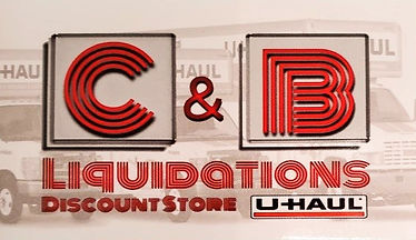C&B Liquidations Discount Store and U-haul dealership