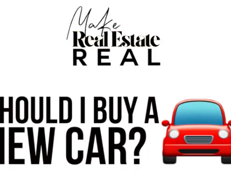 Why you Should NOT Buy a New Car