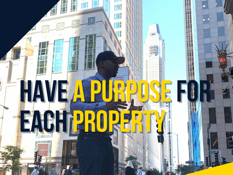 Have a Purpose for Each Property