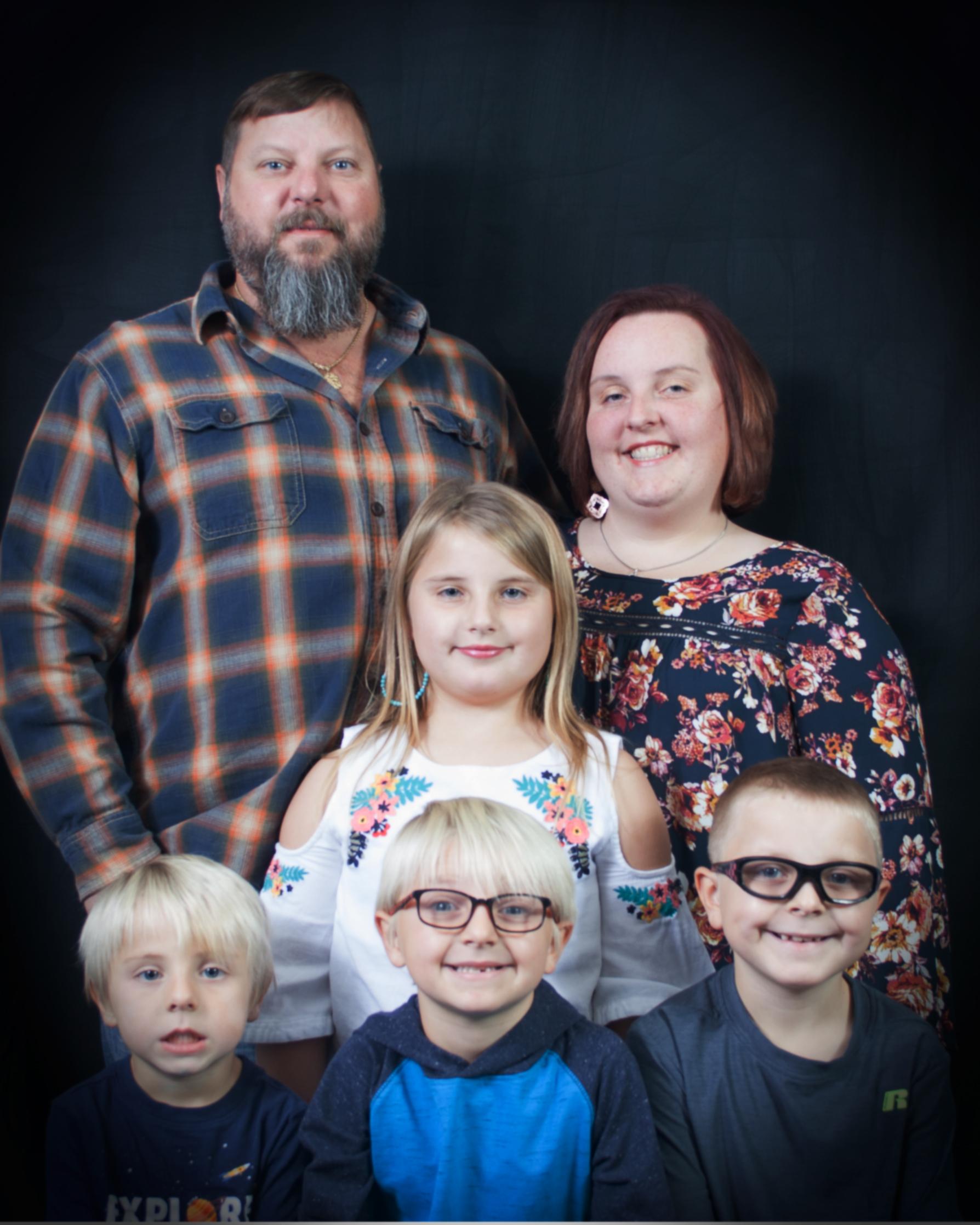 Ray, Nic, Desirea and family