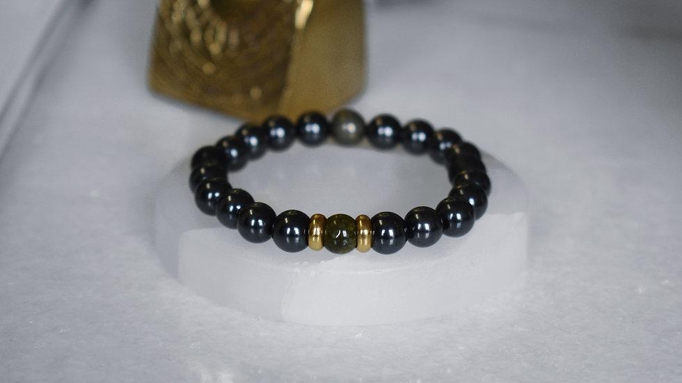 Attraction Bracelet™ Green Garnet