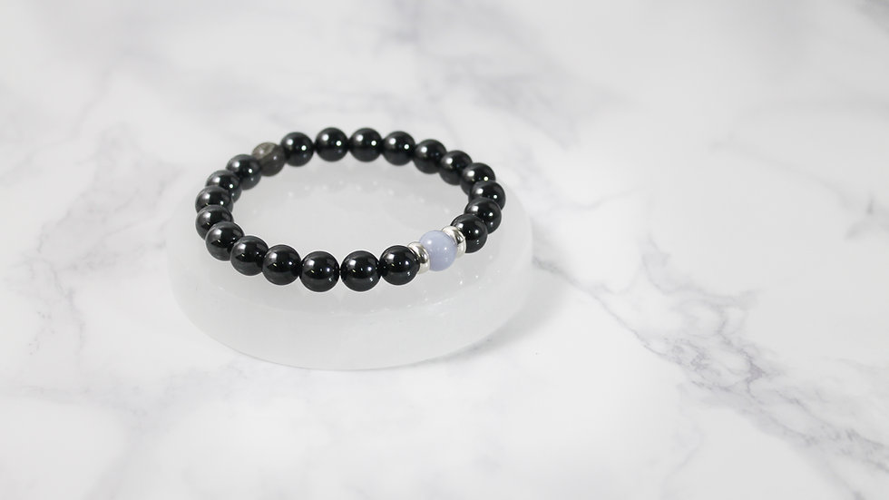 Attraction Bracelet™ Blue Lace Agate