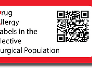 DALES:Drug Allergy Labels in the Elective Surgical population