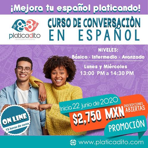 Curso de conversación en español