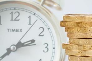 Human behaviour, time and money