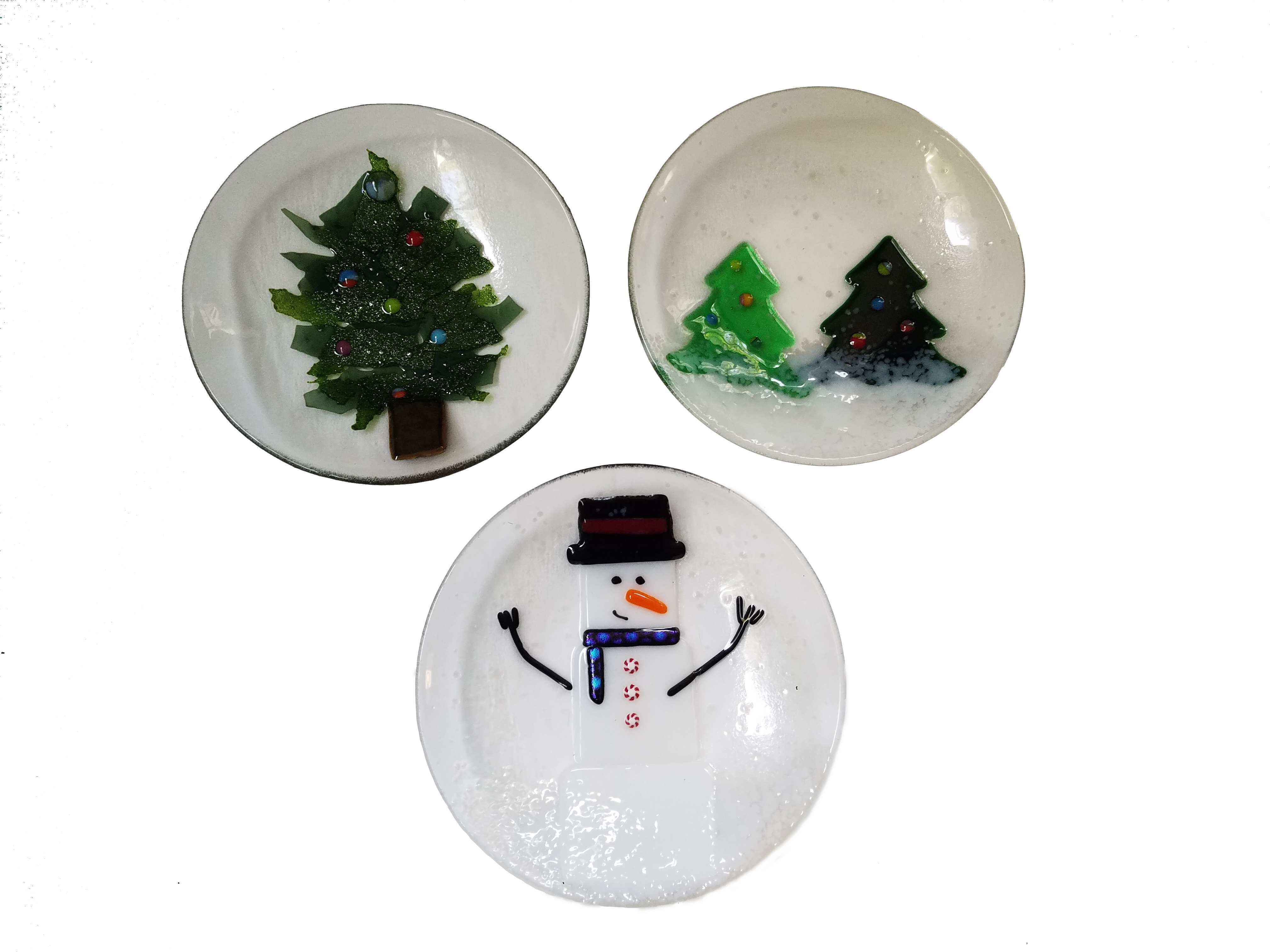 "6"" Holiday Plates"